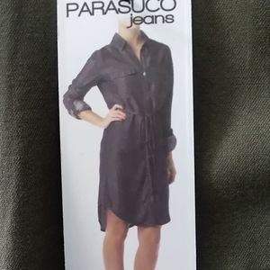 Parasuco Khakhi Shirtdress